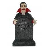 Dracula Grabstein mit Wunschbeschriftung