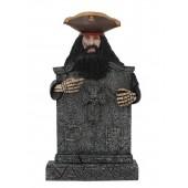 Pirat Blackbeard Grabstein mit Kreuz
