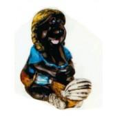 Maulwurffrau mit Kinderwagen