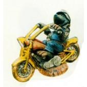 Maulwurf auf Bike