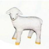 kleines stehendes Schaf weiß Variante 2