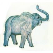 laufender Elefant klein