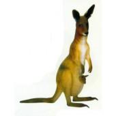 stehendes Känguru mit Kind