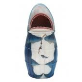 Abfalleimer oder Wäschekorb Hai