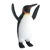 Pinguin Emperor Flossen oben