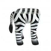 Hocker Zebra für Kinder