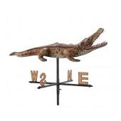 Krokodil klein 1 Windrichtungsanzeiger