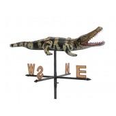 Kleines Krokodil Windrichtungsanzeiger