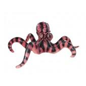 Rot schwarzer Oktopus