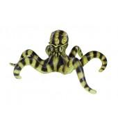 Gelb schwarzer Oktopus