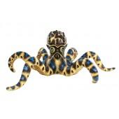 Blauer Oktopus