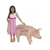 Rosa Sparschwein groß