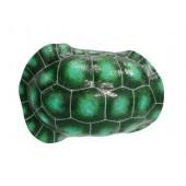 Grüner Schildkrötenpanzer für Wand
