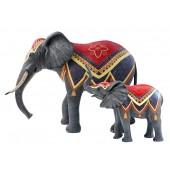 Elefanten Circus klein und groß