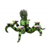 Grüner Oktopus mit 6 Sitzen