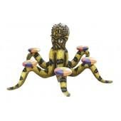 Gelber Oktopus mit 6 Sitzen