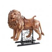 Karussell Löwe mit Sattel