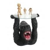 Gorilla Tisch mit Glasplatte