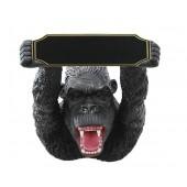 Gorilla mit Angebotstafel