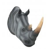 Nashornkopf lebensgroß