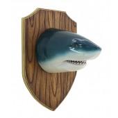Haikopf auf Holz