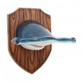 Hammerhaikopf auf Holz