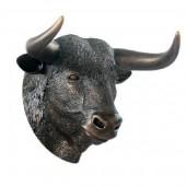 Bronze Stierkopf
