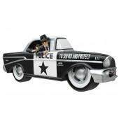 Wanddeko Polizeiauto