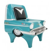 Stuhl Chevy Hellblau