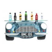 Wandregal Aston Martin mit Glasplatte