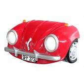 Wanddeko VW Rot