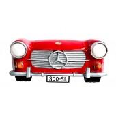 Wanddeko Mercedes Benz Rot