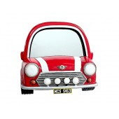 Spiegel Mini Cooper Rot