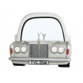 Spiegel Rolls Royce Silber mit Regal mit Emblem