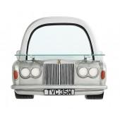Spiegel Rolls Royce Silber mit Regal