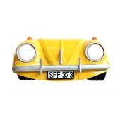 Wanddeko VW Gelb