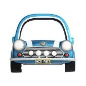 Spiegel Mini Cooper Blau