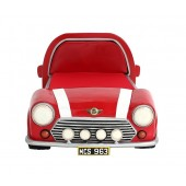 Kinderbett Mini Cooper Rot