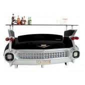 Bar Cadillac Schwarz mit Kofferraumschrank