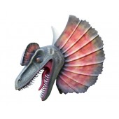 Dinosaurier Dilophosauruskopf