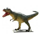 Dinosaurier Tyrannosaurus groß