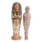ägyptischer Sarg mit Mumie