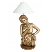 Aphrodite Lampe in Gold