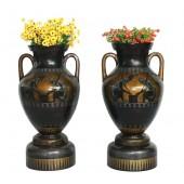 Griechische Vase Bronze