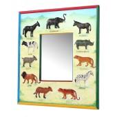 Spiegel mit Tieren