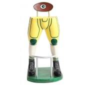 Footballspieler Beine Barhocker Gelb