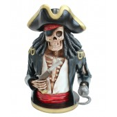 Piratenskelett Oberkörper schwarz