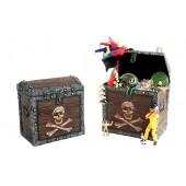 Piraten Schatztruhe Spielzeugkiste