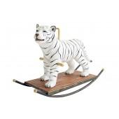 Weißer Tiger Schaukel