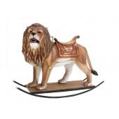 Löwe mit Sattel Schaukel